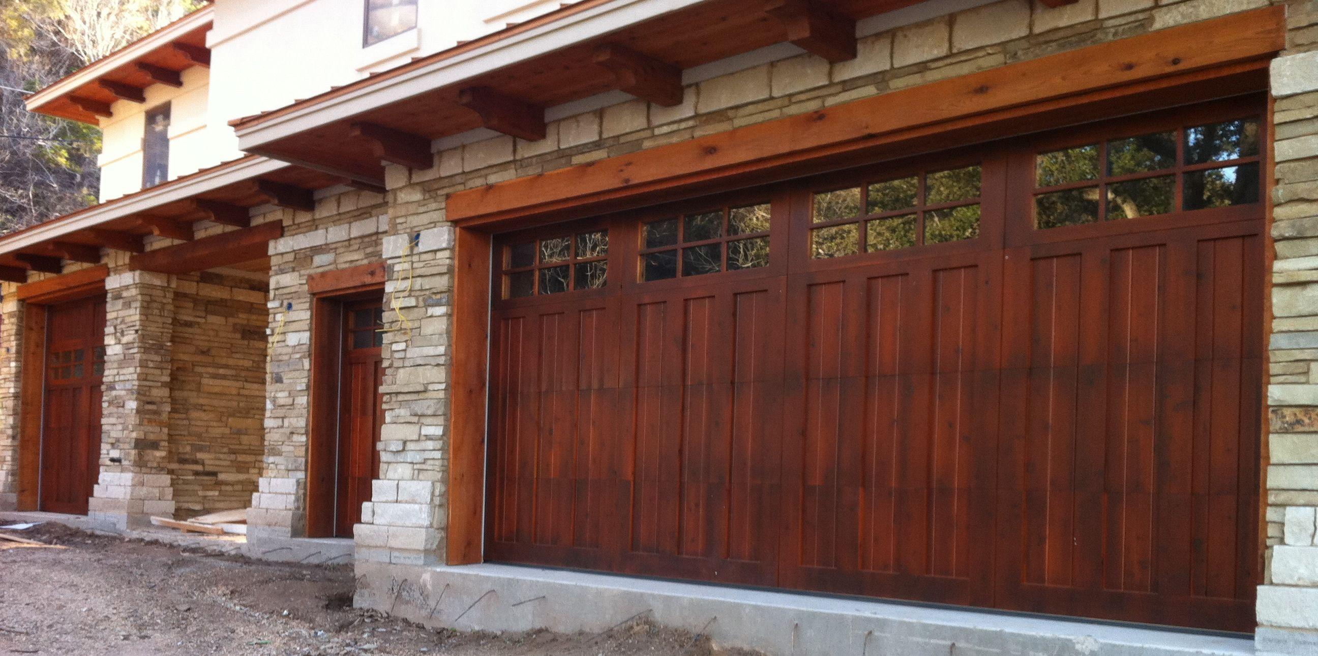 Wood doortimelessconstruction sanctuary pinterest garage garage door service rubansaba