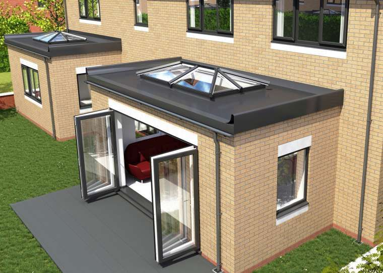 Coloured Finish Standard Sizes Skypod Roof Dual
