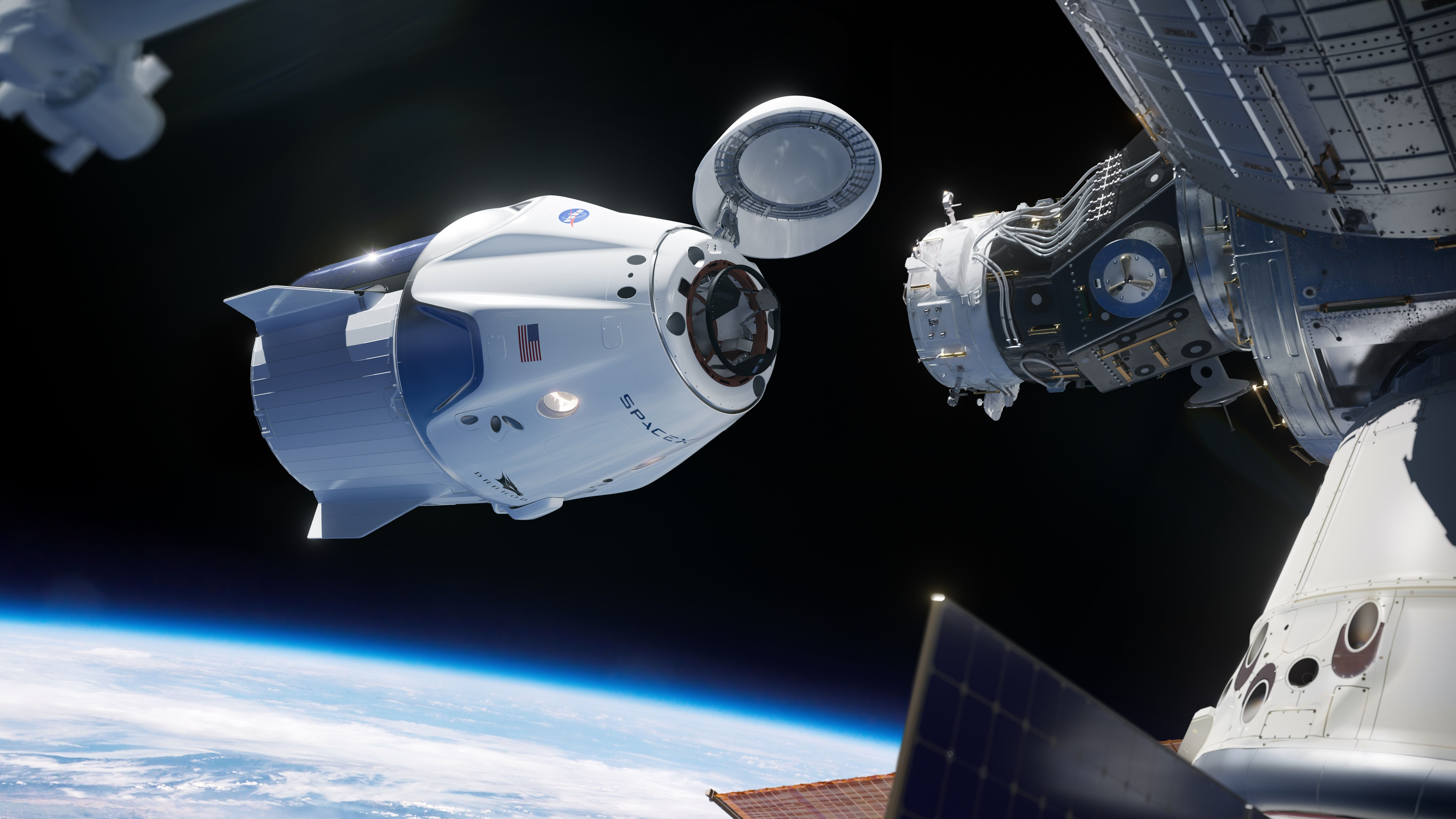 Russia Doesnt Appear Thrilled With Spacex Crew Dragons Success