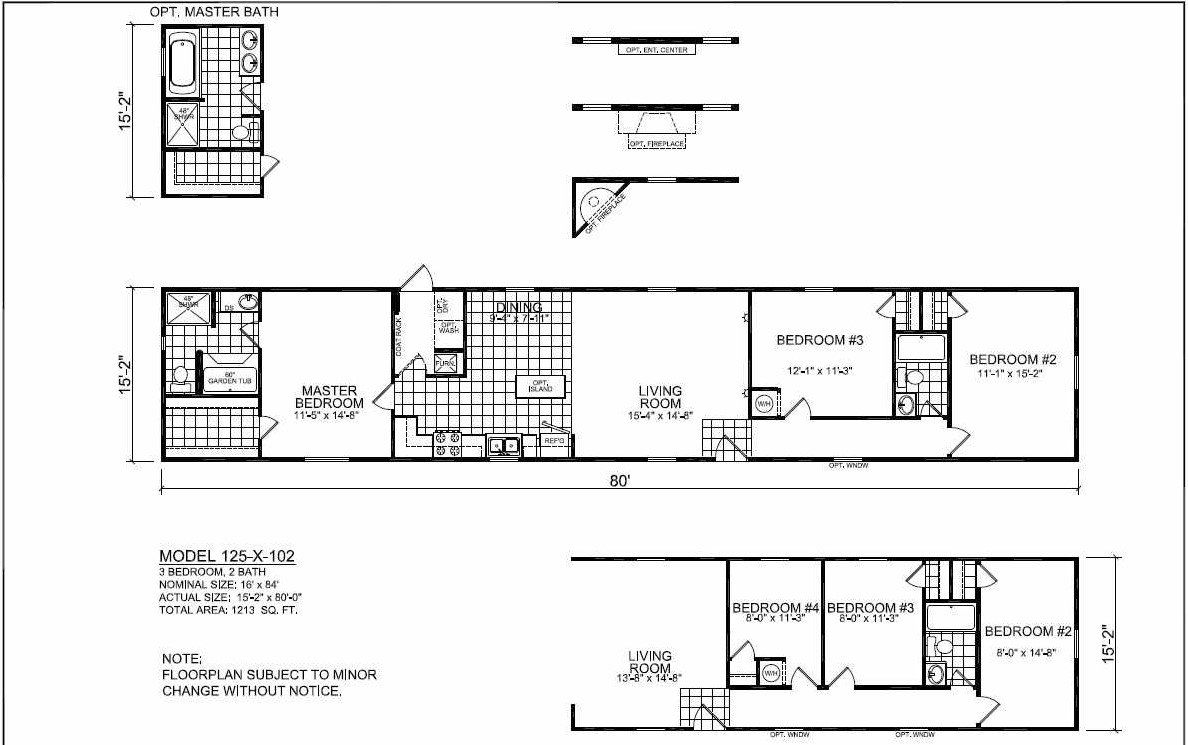 Great 16x80 Mobile Home Floor Plans Designs Mobile Home Floor Plans House Floor Plans Floor Plans