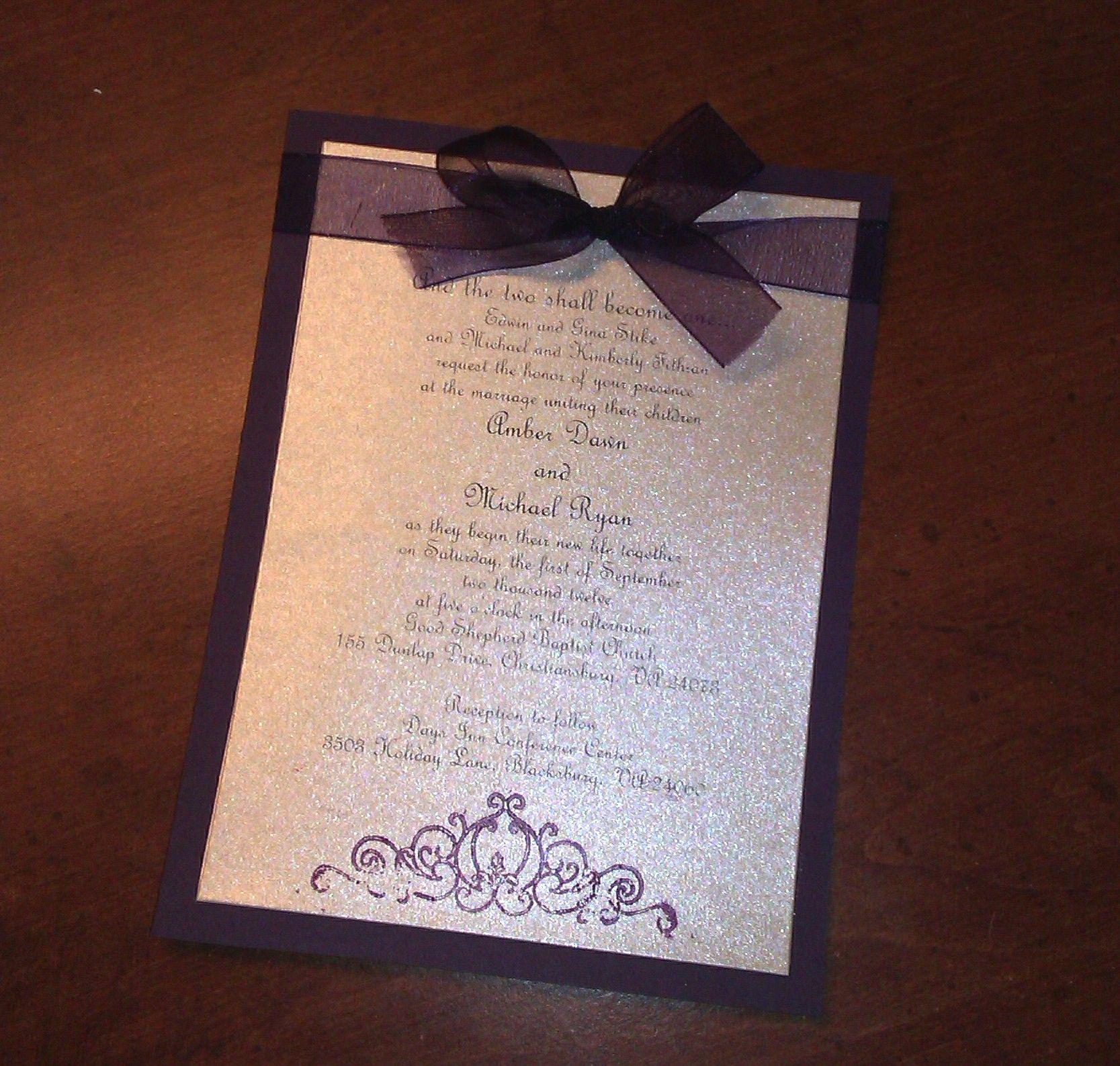Best 25+ Plum wedding invitations ideas on Pinterest ...
