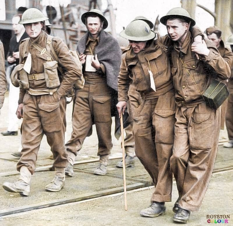 Image result for BRITISH SOLDIERS IN DUNKIRK