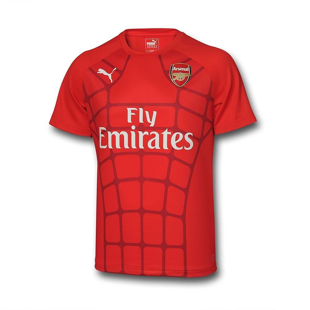 Puma Arsenal Men/'s Stadium Jersey// T XL Shirt//Training Top 2015//16 Size