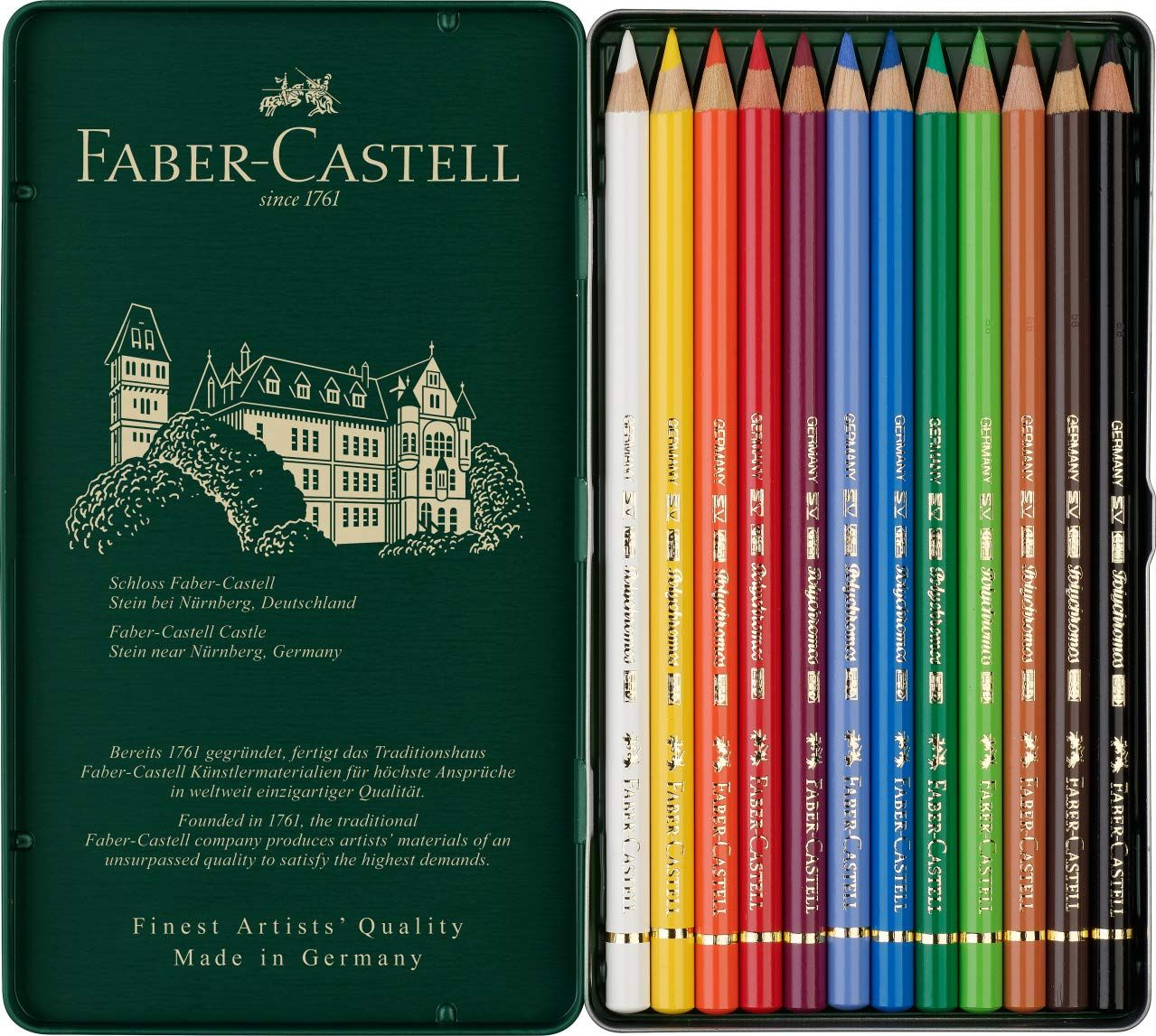 Faber Castell Polychromos Colored Pencils Have Oil Based Leads