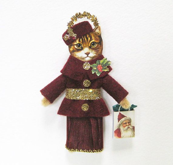 Old Style Christmas Decorations: Vintage Style Christmas Ornament HOLIDAY SHOPPING By