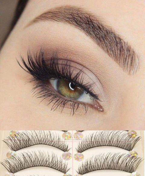 2b5179be425 10 Pairs Natural Handmade Thick Long Short Cross False Eyelashes Soft Fake Eye  Lashes Extension Voluminous Makeup [9005548740]