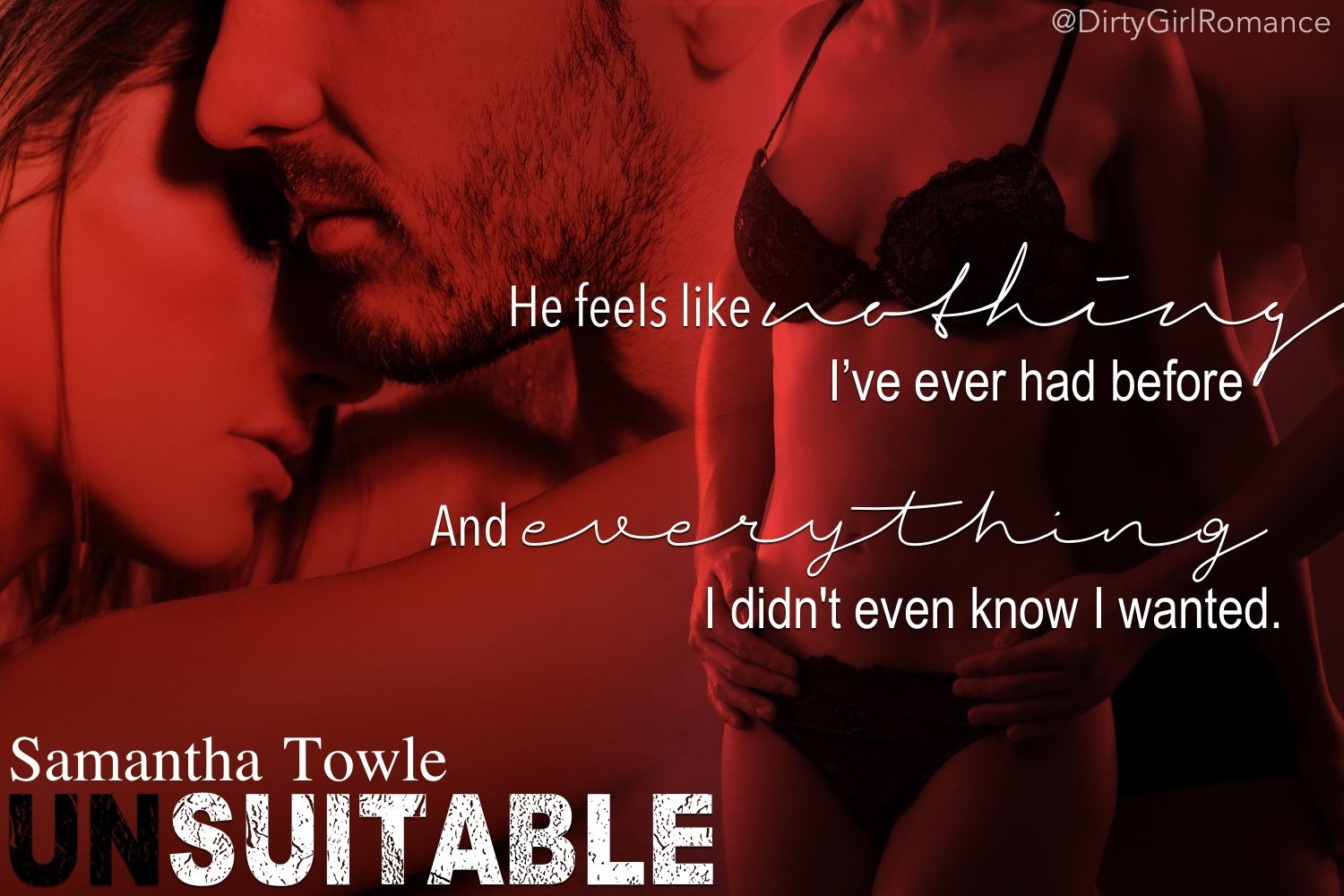Unsuitable by Samantha Towle | DGR Book Teasers | Pinterest
