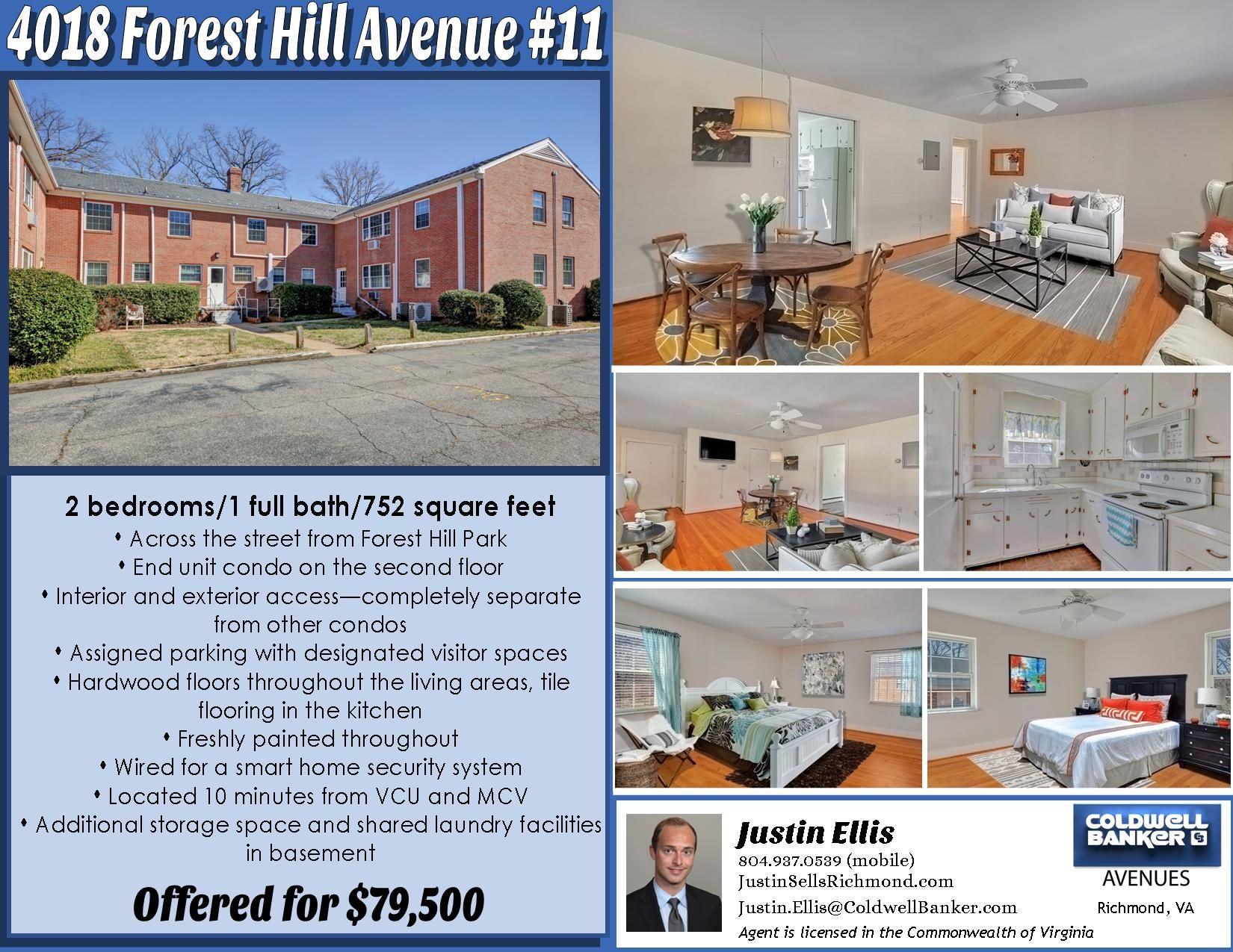 Sold 4018 Forest Hill Avenue 11 Forest Hill Forest Hill Park First Time Home Buyers