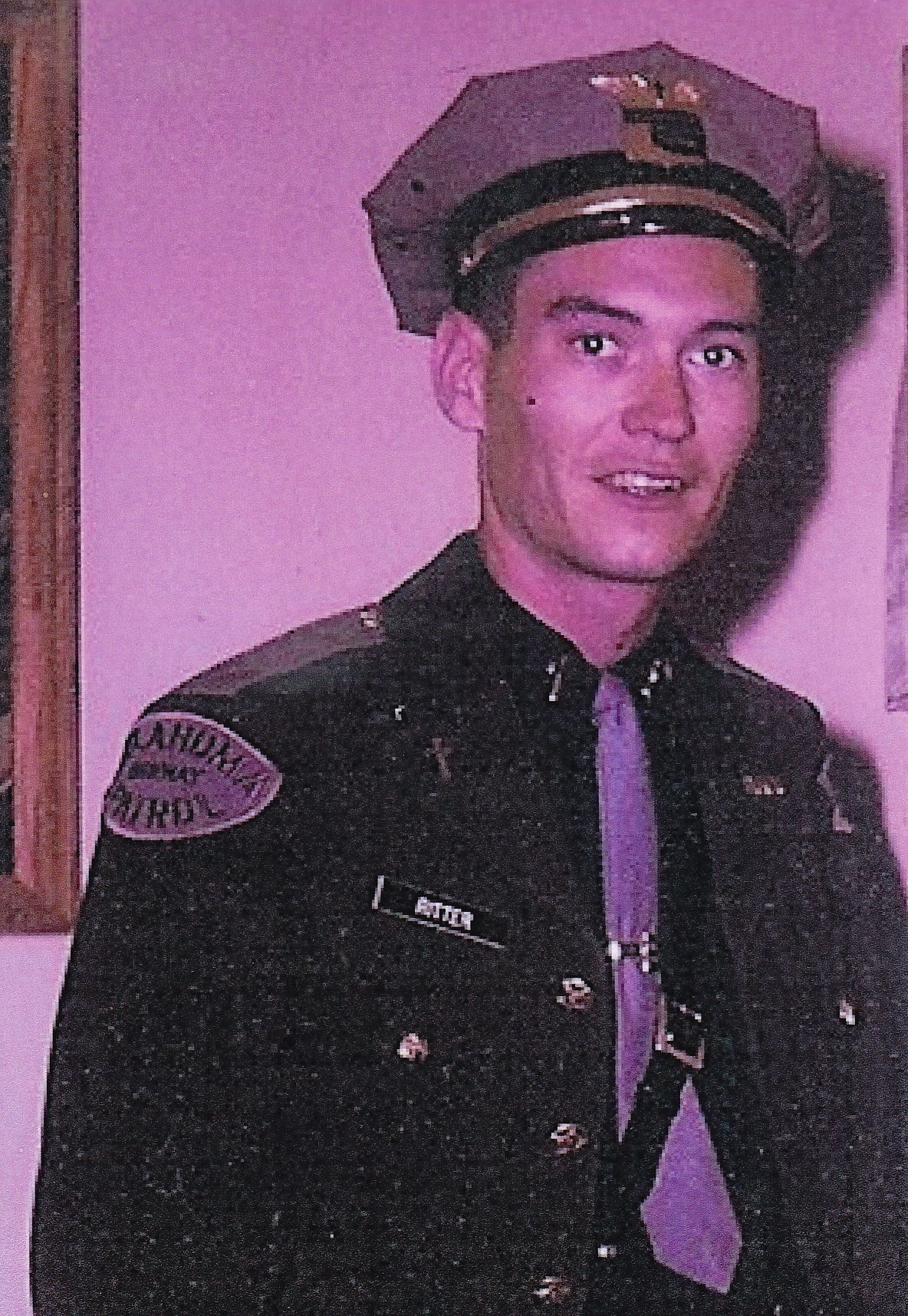 My dad as an oklahoma highway patrol chaplain state