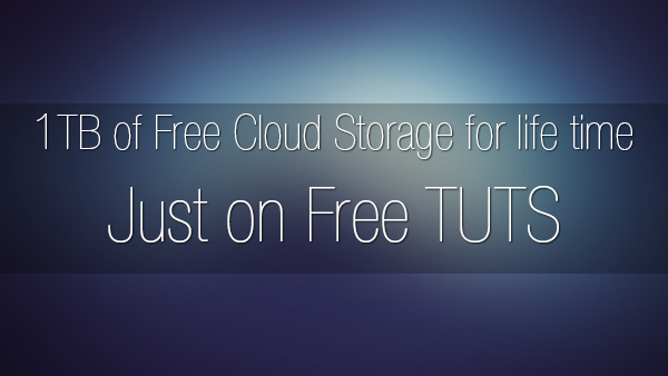 Offer 1tb Of Free Cloud Storage For Life Time Just On Free Tuts Free Tuts