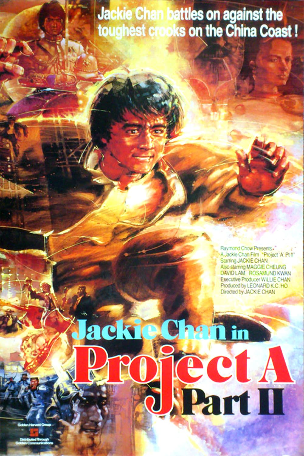 Project A Ii With Images Jackie Chan Adventure Movies Best