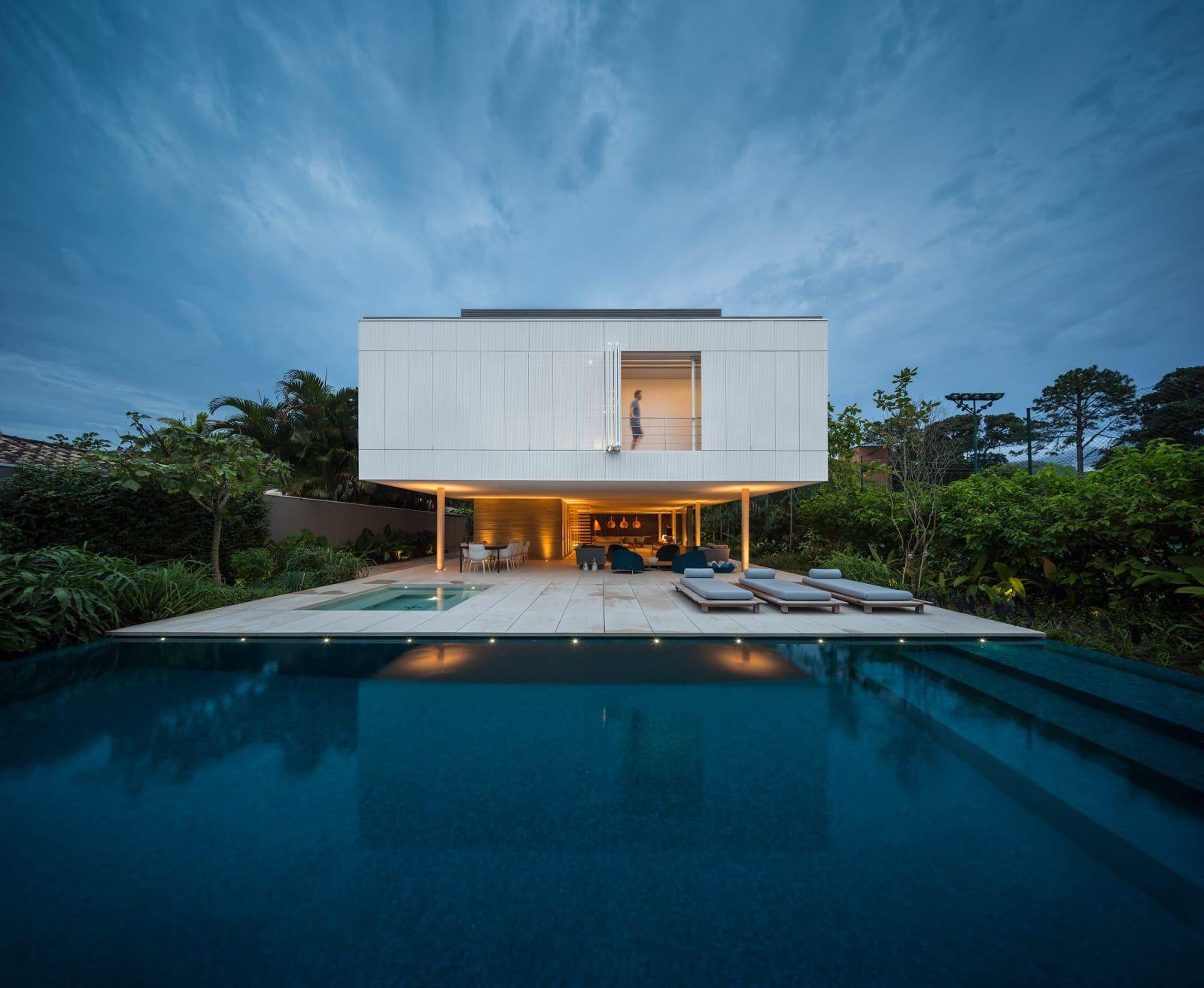 Studio Mk27   Marcio Kogan, Fernando Guerra / FG+SG · White House   Pools    House Design, Minimalist House Design, Modern House Design