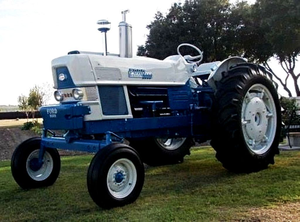 Ford Commander 6000 2wd Tractor With Images Ford Tractors