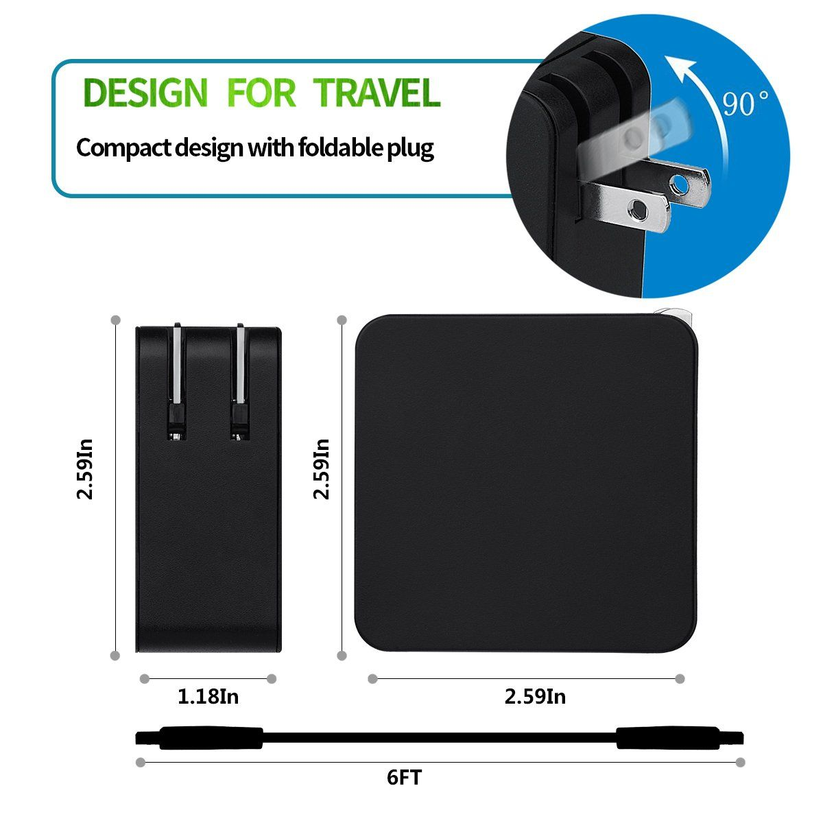 Llamatec 65W 20V 3 25A 5 2V 2A USB AC Charger For Lenovo Yoga 3 Pro