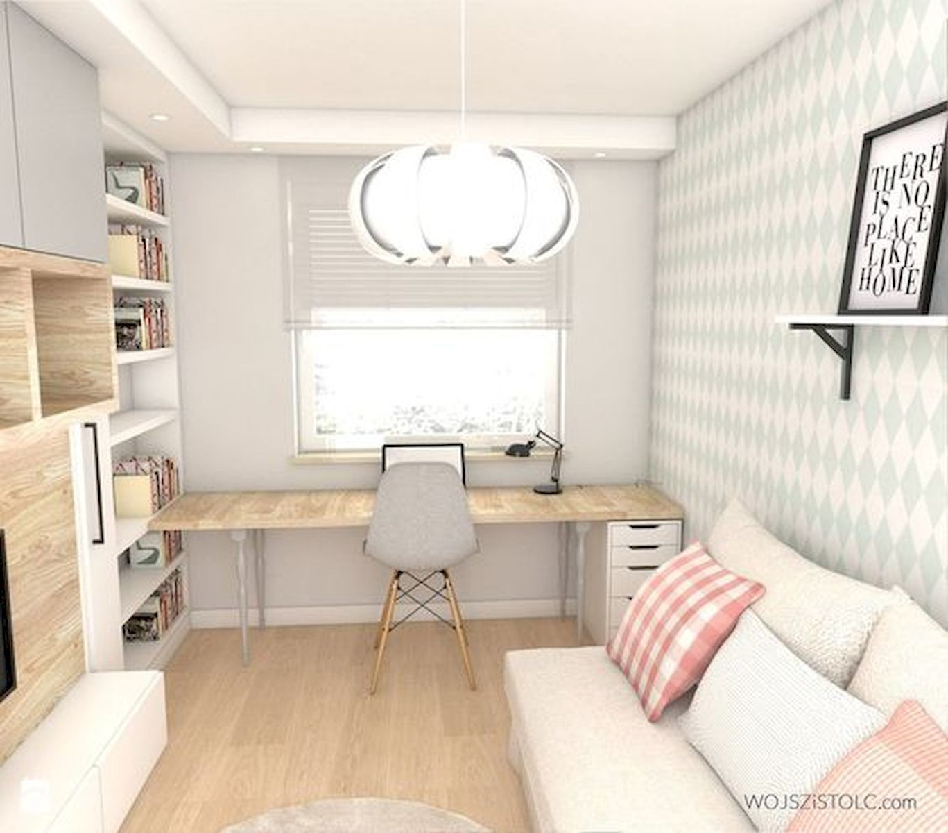 55 Best Home Decor Ideas: 55 Brilliant Workspace Desk Design Ideas On A Budget