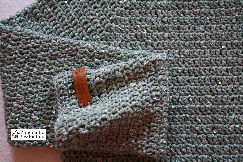 Anleitung zum Pullover häkeln #kleidunghäkeln