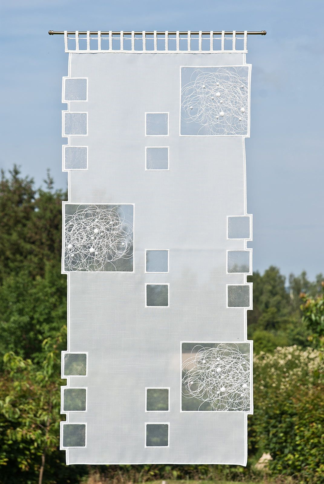 Flächenvorhänge Modern mixing sheers with opaques flächenvorhänge modern günstige