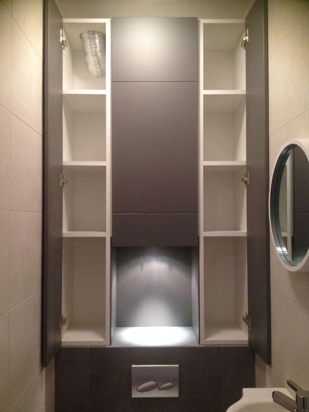 placard au dessus wc suspendu - Recherche Google | rangemeny ...