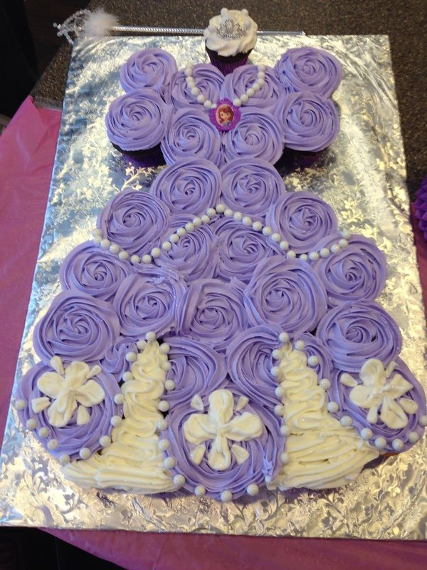 Gallery The Kilted Cake Supply Sophia Birthday Party Sofia The First Birthday Party Birthday Cake Girls