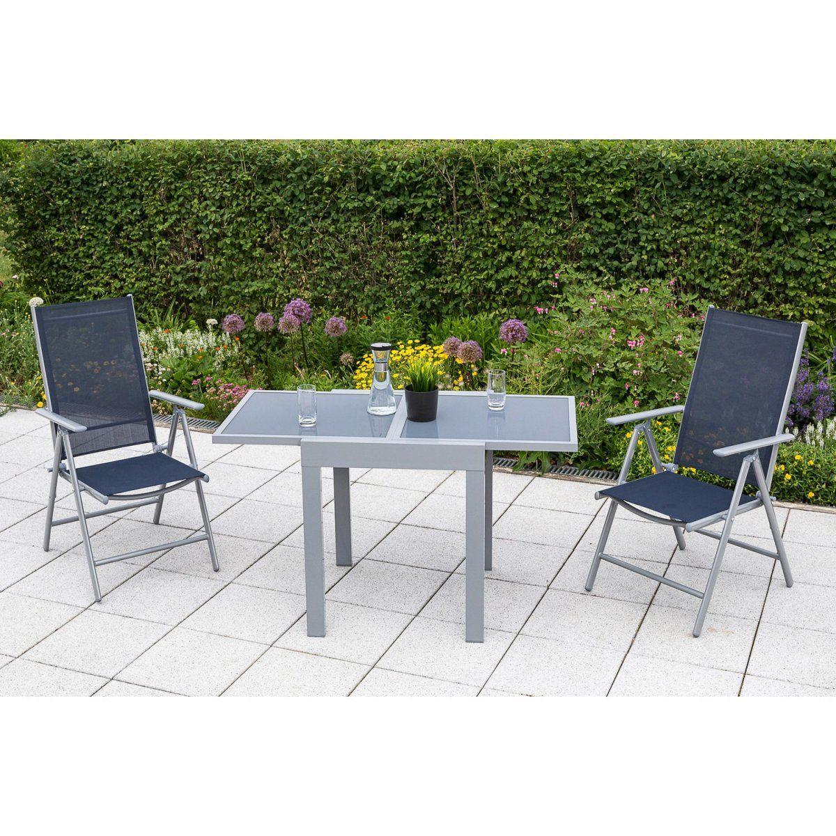Gartenmöbel-Set Amalfi 3-tlg. Marineblau-Grau Jetzt bestellen unter ...