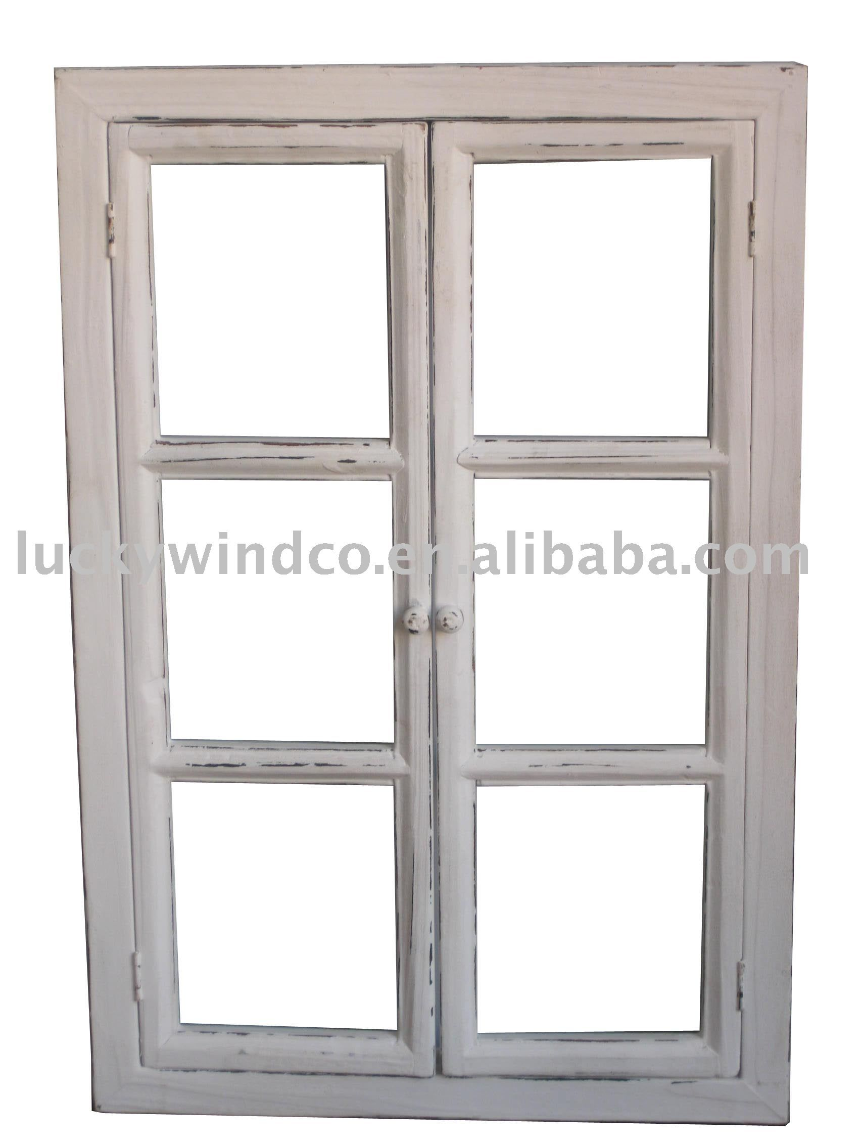 window white frame decorating ideas for kitchen cabinets - Wooden Window Frame