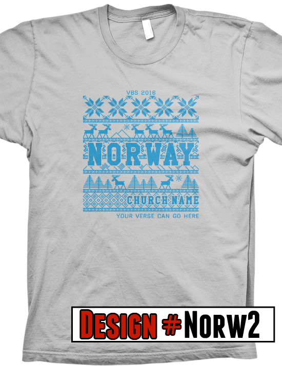 Norway Vbs TShirts We Offer Free Shipping On All Vbs Orders All
