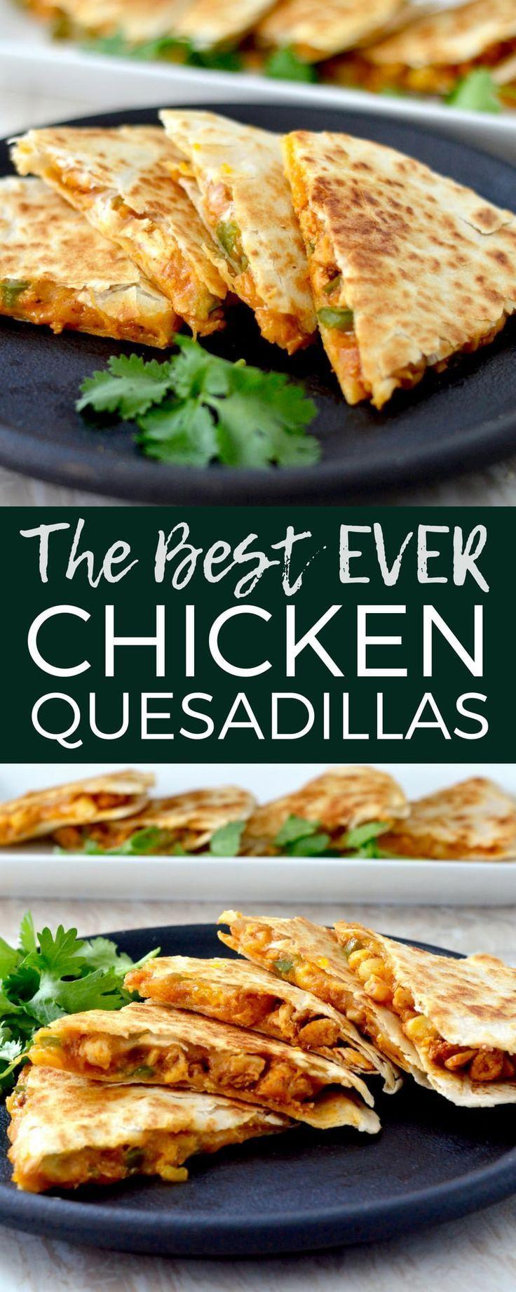Dies ist das beste Huhn Quesadilla Rezept aller Zeiten! Es ist eine einzigartige, schnelle, einfache...