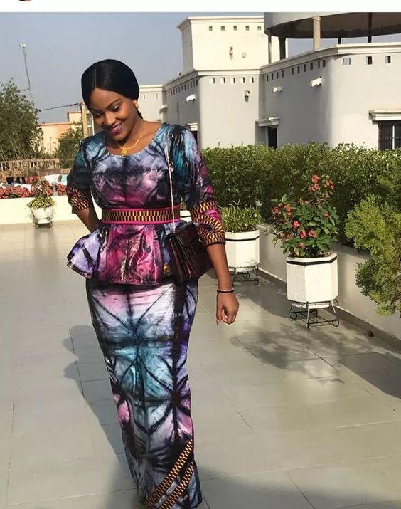 20 exemples de coutures africaines chics de nos jours | Mode africaine, Robe africaine, Mode ...