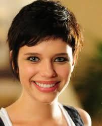 cortes de cabelos curtos para rosto redondo - Pesquisa Google