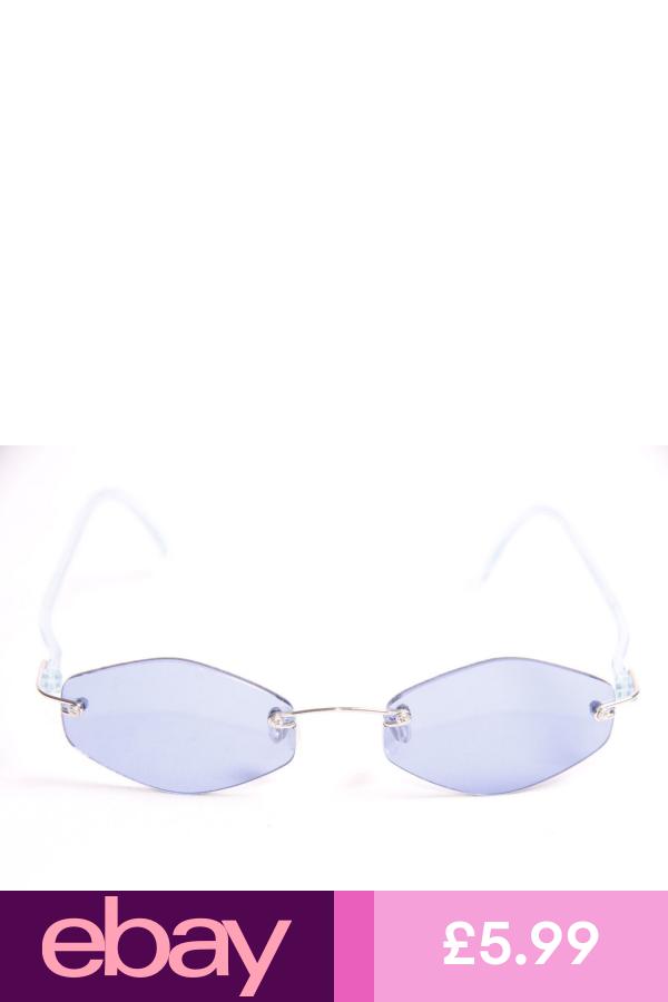 Cool Ladies Hip Artsy Chic Trendy 90 S Retro Pop Dark Blue Tint Glasses S267 Ebay Sunglasses Tinted Glasses Ladies Hips