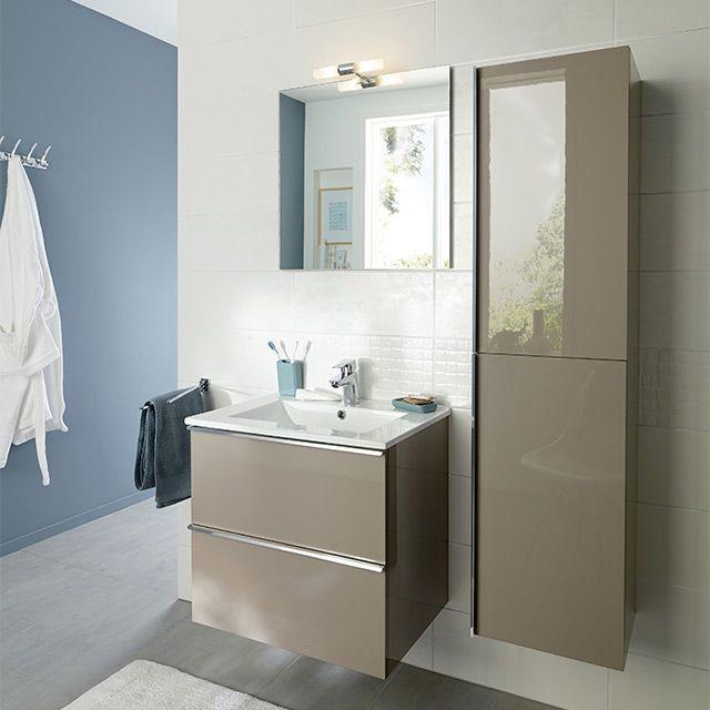 meuble salle de bain castorama 60 cm