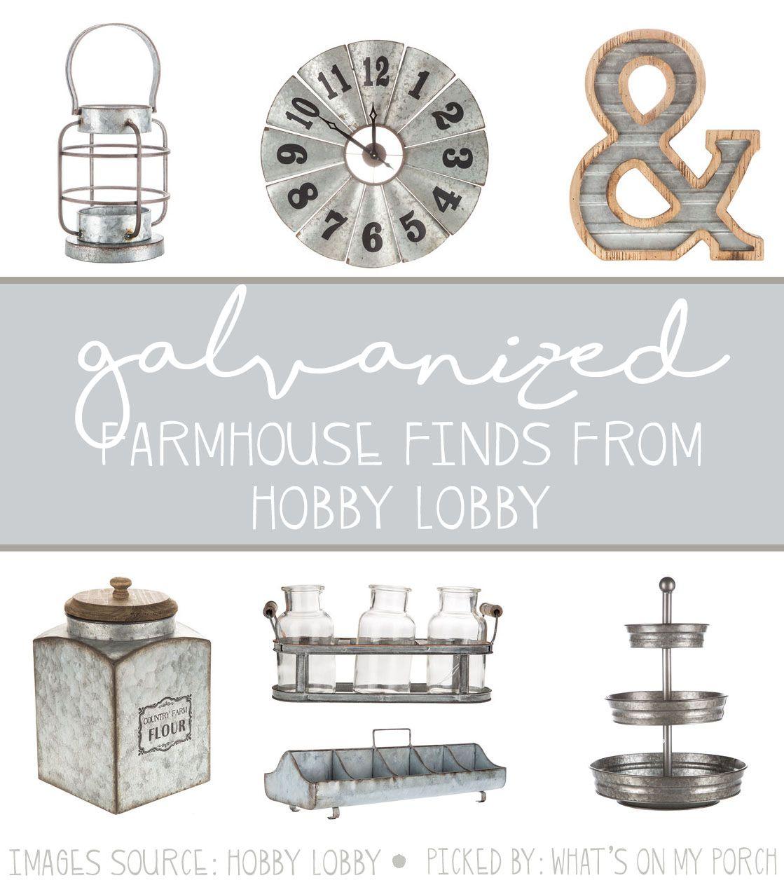 Galvanized Farmhouse From Hobby Lobby Hobby Lobby Country Farmhouse Decor Coffee Bars In Kitchen