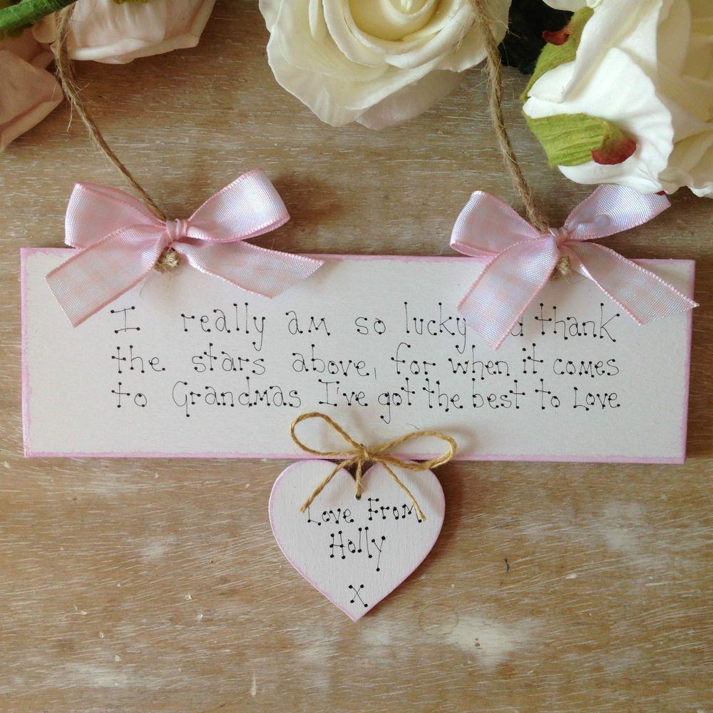 Details about personalised grandma birthday nan granny