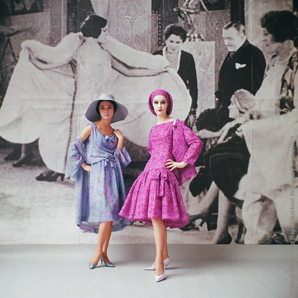 Mark Shaw  For Nina Ricci  Paris 1961