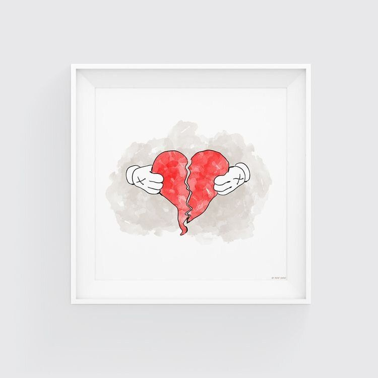 We Broke Up Bee You Blog In 2020 Heartbreak Art 808s Heartbreak Illustration