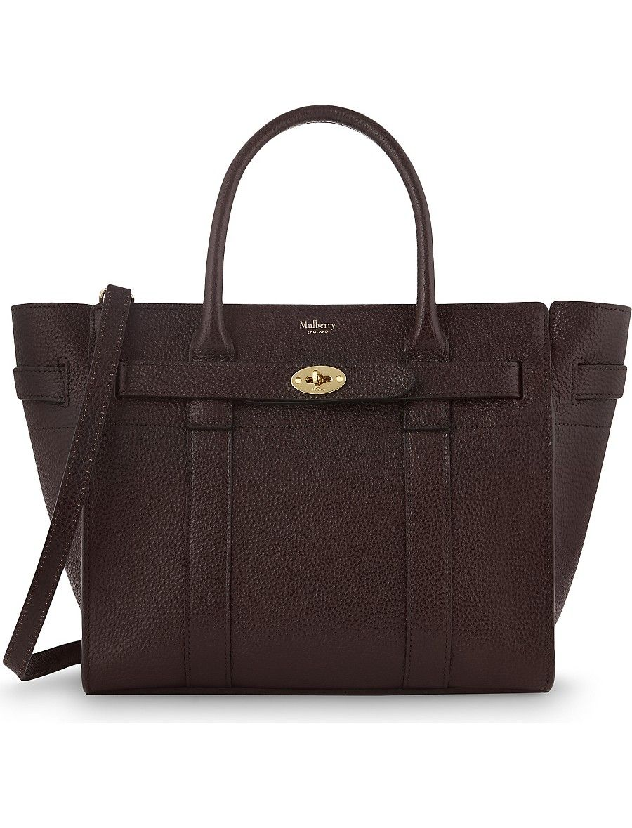 Bayswater grained leather small tote  9fd5afdc26b4a