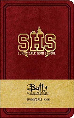7a3b5de71c220 Buffy, the Vampire Slayer: Sunnydale High Hardcover Ruled Journal ...