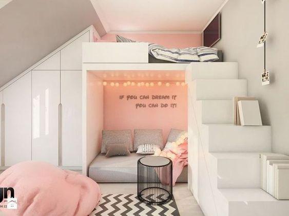 TURN A MONOTONOUS BED INTO A FUN BUNK BED - Page 39 of 48 -   11 small room decor Quarto ideas