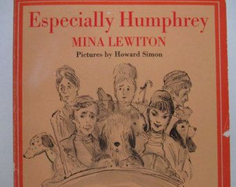Especially Humphrey 1969 Vintage Children's Book By Mina Lewiton Illustrated By Howard Simon