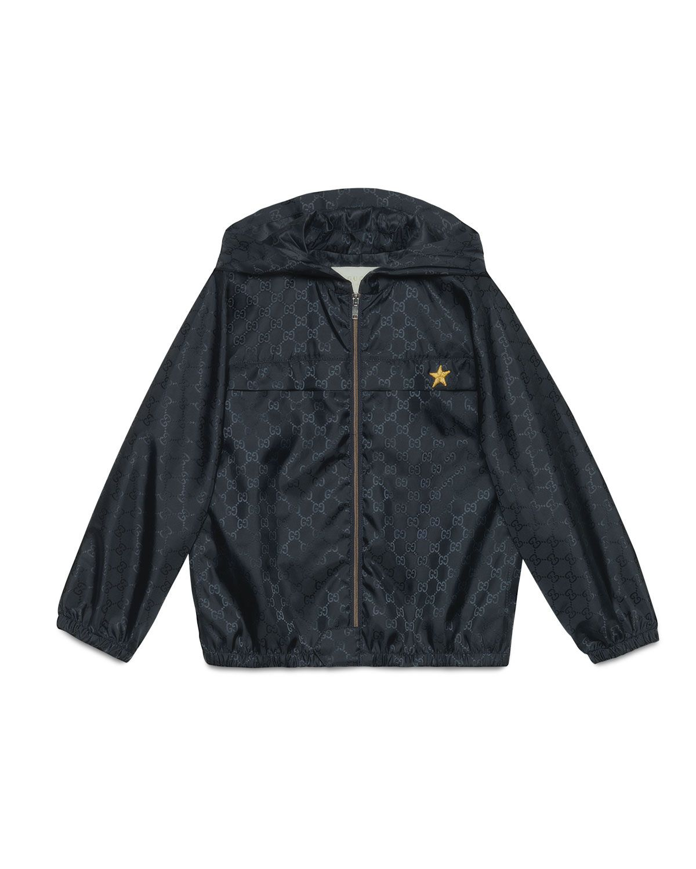 3afa899ae Gucci Hooded GG-Print Rain Jacket