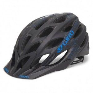 Giro Phase Helmet Matte Black Blue Blockade Closeout Helmet Giro Mountain Biking