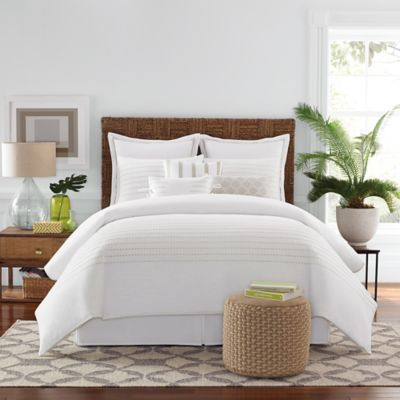 Real Simple Boden Comforter Set In White Bedbathandbeyond