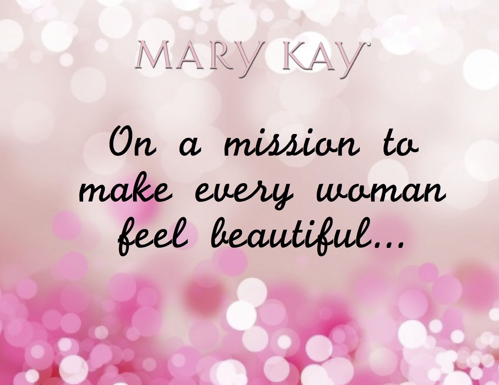 As A Mary Kay Independent Beauty Consultant This Is My Personal