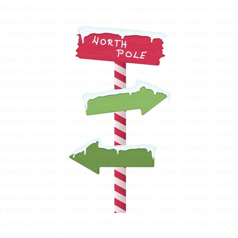North Pole Sign Svg Santa S Workshop Sign Svg Clipart Etsy Santa S Workshop Sign North Pole Sign Pole Sign