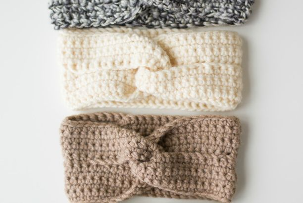 The Twist Headband -free crochet pattern-
