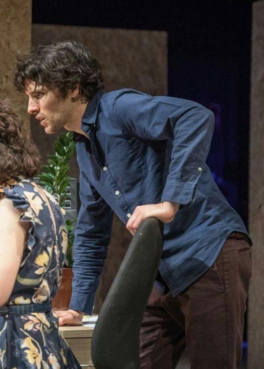 Colin in Gloria, Hampstead Theater, June 2017. Same pic ...