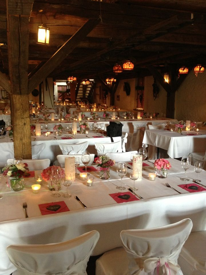 Obsthof Jack Schriesheim Rheinland Pfalz Wedding Locations Table Decorations Table Settings