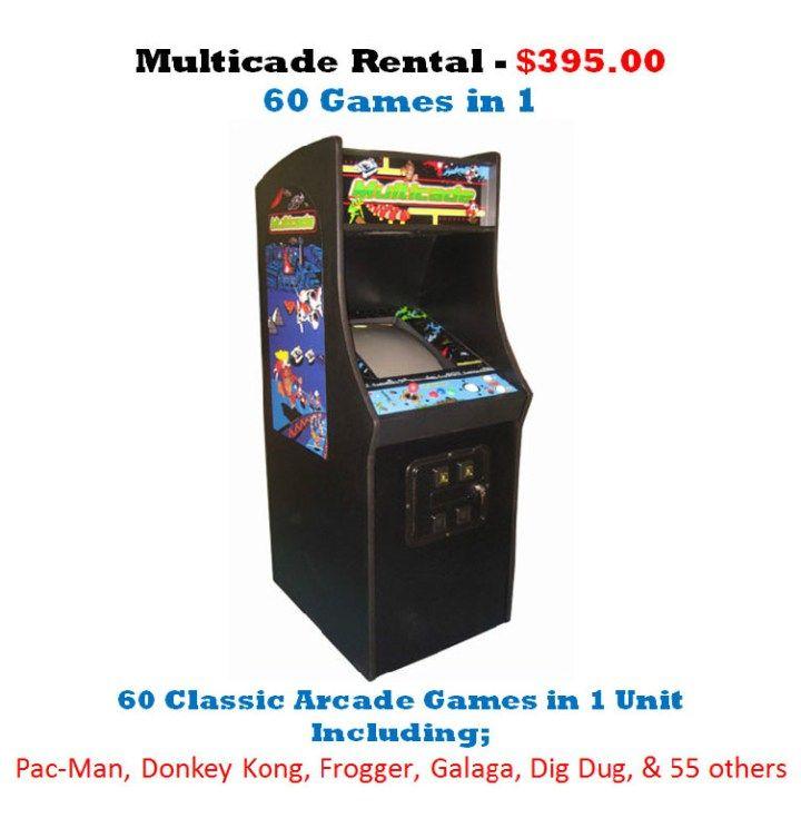 33+ Arcade game rentals dallas collection