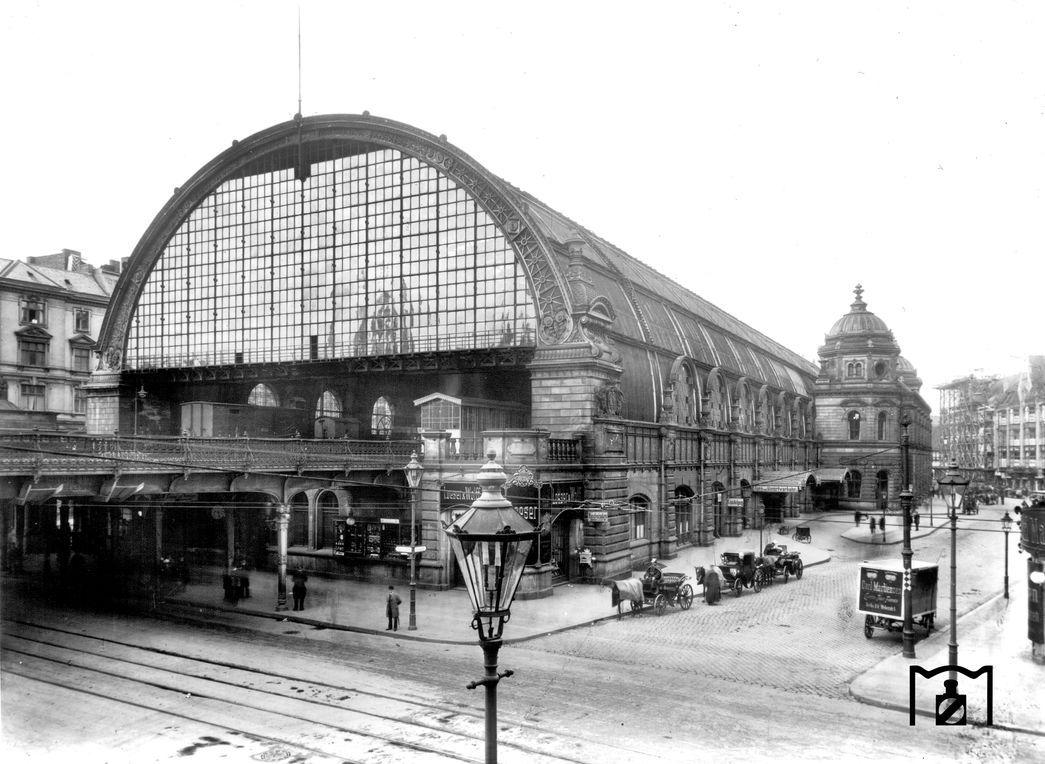 Bahnhof Berlin Alexanderplatz 1905 Berlin Geschichte Berlin Alexanderplatz Historische Bilder
