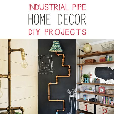 Industrial home decor furniture